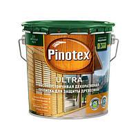PINOTEX ULTRA Высокоустойчивое средство для защиты древесины (Белый) 3 л