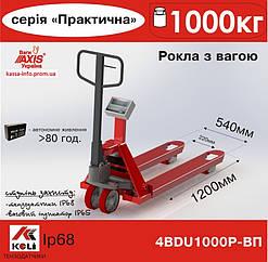 Рокла с весами Axis Весы-рокла 4BDU1000Р-В-П