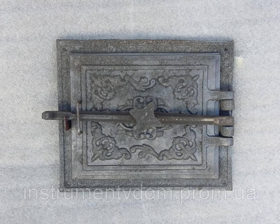 Дверка топочная чугунная (с болтом)