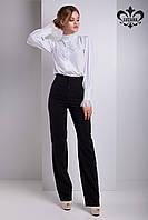 """Женские брюки с высокой талией """"Флоренсе"""" (черный), фото 1"""