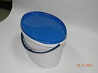 Ведро пластиковое11л.овальное( пищевое)