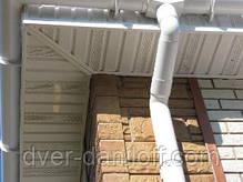 Софіт АЛЬТА-ПРОФІЛЬ без перфорації, коричневий 3,00х0,232м (0,696 м2), фото 2