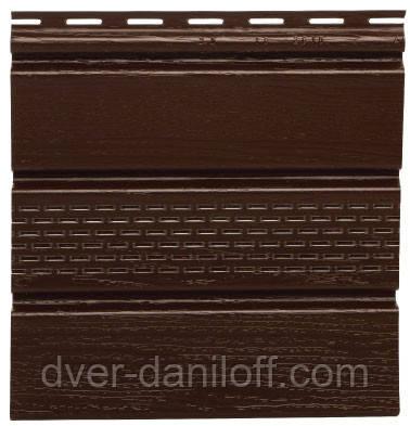 Софит АЛЬТА-ПРОФИЛЬ с перфорацией, коричневый 3,00х0,232м (0,696 м2)