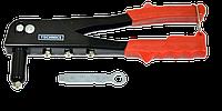 Заклепочник металлический 4 сменные головки (2,4-4,8мм) TECHNICS