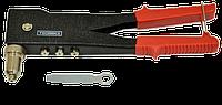 Заклёпочник металлический 90° 4 сменные головки (2,4-4,8мм) TECHNICS