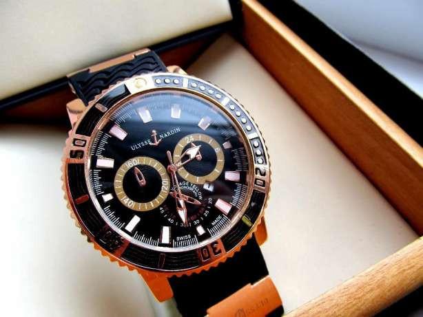98b59aa2 Мужские часы в стиле Ulysse Nardin черные , магазин мужских часов -  Интернет-магазин