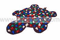 Массажный коврик-дорожка Черепаха с цветными камнями 80*50 см