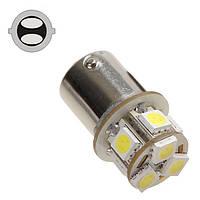 Светодиодная лампа цоколь T25,  P21/5W (1157 BAY15d) 8-SMD 5050, 110Lm 12В