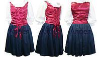 Промо костюм (юбка+блуза+корсет)
