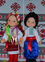 """Ляльки """" Українці у вишиванках"""""""