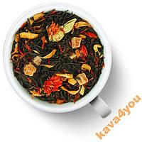 Черный чай Айва с персиком 200 г Gutenberg НОВИНКА