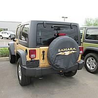 Jeep Wrangler 2007-16 чехол на заднее колесо Sahara новый оригинальный