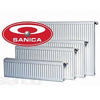 Радиатор стальной SANICA 300*1000 Тип 22 (глубина 100 мм)