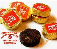 Чай Шу пуэр медаль  5 шт. выдержка 13 лет АКЦИЯ!