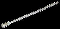 Ремешки затяжные 2,5х115мм (упак. 100шт.) белые, отверстие для шурупа TECHNICS