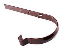 Держатель желоба Profil метал. 130, коричневый