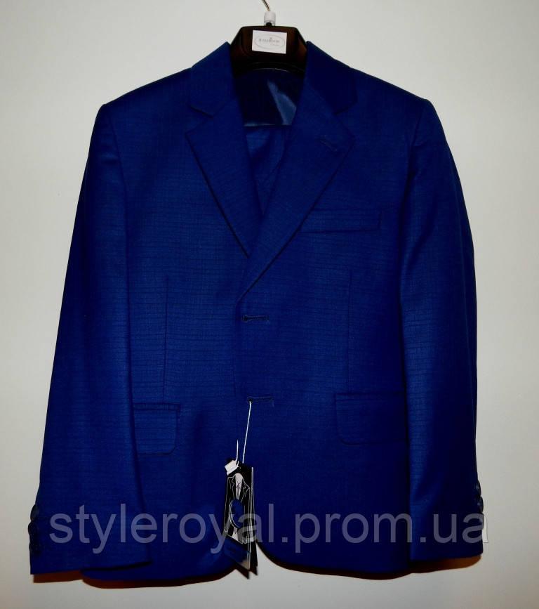 Школьный костюм для мальчиков 6-10 лет темно синий 6