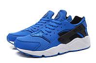 """Чоловічі Кросівки Nike Huarache """"Blue Black"""" - """"Сині Чорні"""" (Копія ААА+), фото 1"""