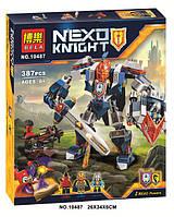 Nexo Knights конструктор Bela «Королевский Мех» 10487, 387 деталей, 3 фигурки, робот, 2 нексо-силы
