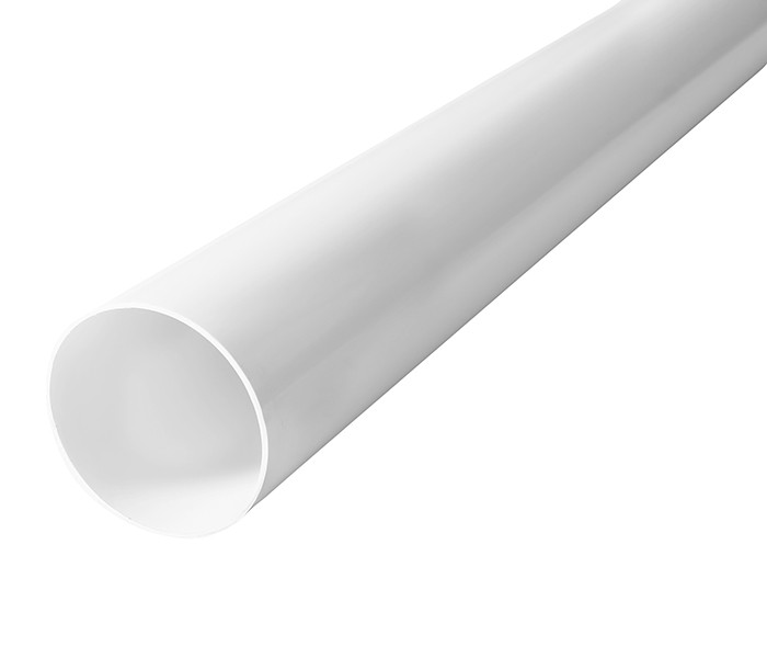 Труба водосточная Profil 75, 4 м., белый