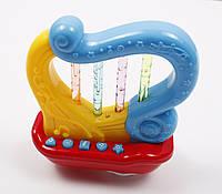 Игрушка для детей музыкальная Lindo A 653 Арфа