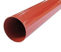Труба водосточная Profil 75, 4 м., кирпичный