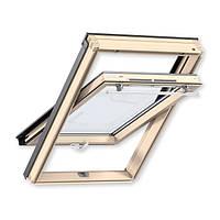 Мансардное окно VELUX GLR 3073 Optima Comfort 78x140 см. дерево