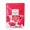 Тканевая маска на основе экстракта граната и лепестков роз Deoproce сolor synergy effect sheet mask Red