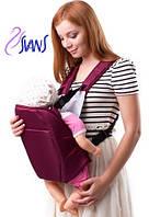 Рюкзак-кенгуру для переноски детей (аналог Womar) № 6 бордо Украина 60379