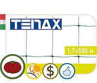 Сетка TENAX 'Ортинет' для горизонтальной поддержки растений 1,7х500  белая