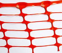 Сетка TENAX 'Грифон' для сигнального ограждения 1х50 оранжевая