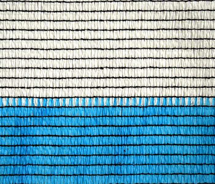 Затеняющая сетка TENAX 'Солеадо' 2х50 бело-голубая 85% затенения
