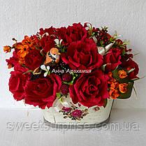 """Подарочная корзина """"Вкусные розы"""", фото 3"""