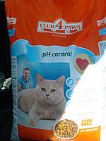 Клуб 4 лапы корм для кошек профилактика мочекаменных заболеваний(Уринари)3кг
