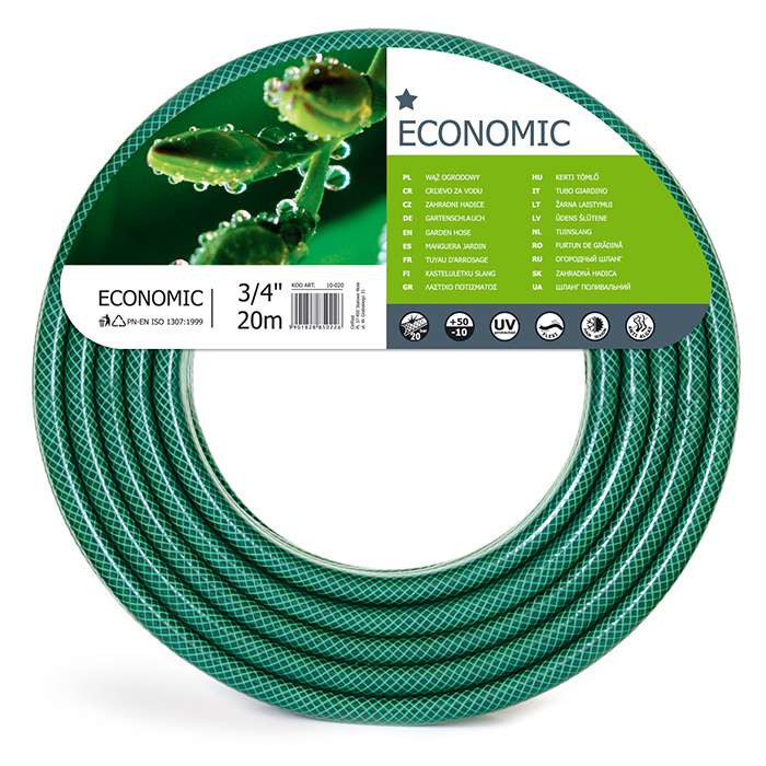 Садовый  шланг для полива Economic 3/4'20м. (10-020)