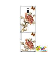 Дизайнерские наклейки на холодильник Винтажные мотивы
