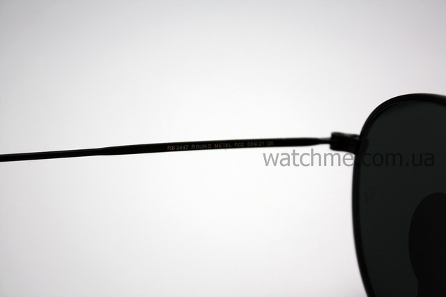 Очки Ray Ban RB 3447 Round Metal Black стекло комплект ... fc6f82c70faf2