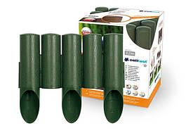 Садовое ограждение 5 элементов Standart  зеленый 2,3 м. (34-002)