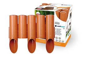 Садовое ограждение 5 элементов Standart кирпичный 2,3 м. (34-003)