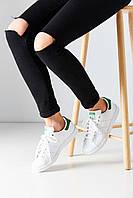 Кроссовки Adidas Stan Smith (White/Green).