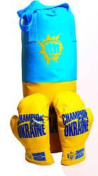 Боксерська груша Champion of Ukraine велика