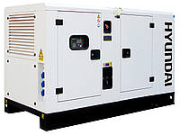 Электростанция Hyundai DHY45KSE + ATS