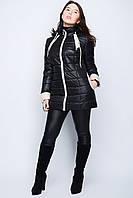 Демисезонная женская куртка с капюшоном р. 46-56