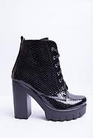 Ботинки из натуральной лаковой кожи №353-3, фото 1