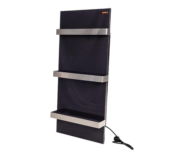 Керамическая панель DIMOL Standart 07, 400х900х12 графитовый