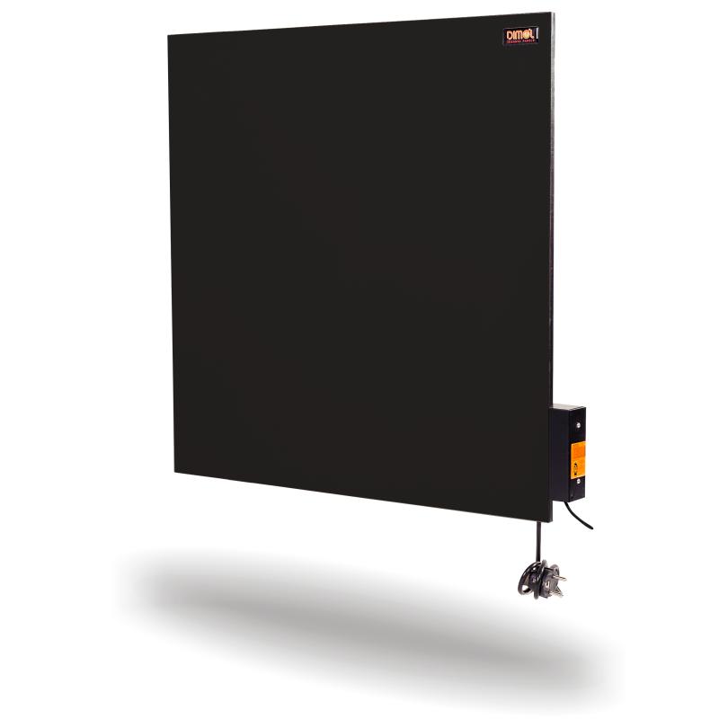 Керамическая панель DIMOL Standart 03 Plus, 600х600х12 графитовый