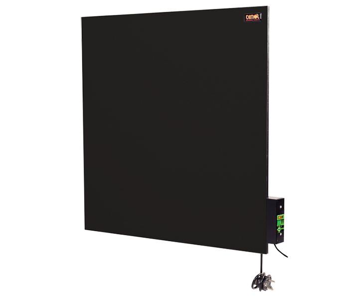 Керамическая панель DIMOL Standart 03 с терморегулятором, 600х600х12 графитовый