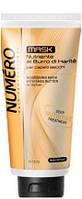Маска для волос питательная для сухих и тусклых волос с маслом Карите 300 мл Numero Deep Nutritive Brelil