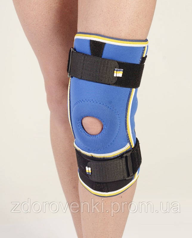 Ортез на коленный сустав жесткий диск ультразвук лечение суставов прибор