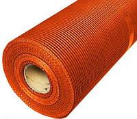 Сетка КТ фасадная 160 г/м2 5х5 мм 1х50 м оранжевая (70187002)